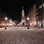 Długi Targ Zimą