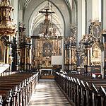 Wnętrze kościoła Św. Mikołaja