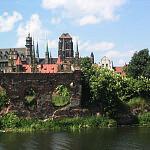 Ruiny na Wyspie Spichrzów