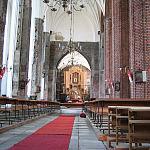 Wnętrze Kościoła Piotra i Pawła
