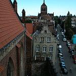 Widok z wieży kościóła Św. Mikołaja