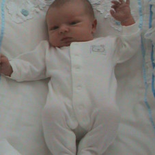 nasz mały aniołek Karolek