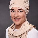 Kolekcja turbanów Beaute de Femme, model - Róża