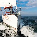 Juna II na morzu