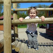 Martynka na placu zabaw