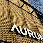 litery świetlne Aurum