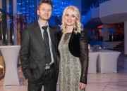 Marta Nicgorska z mężem