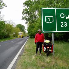 na trasie Węgier