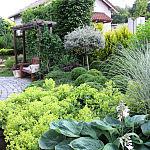 Ogród w Leźnie