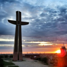 Góra Gradowa - Krzyż Milenijny