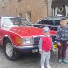 Tatuś kup Mercedesa, nie musi być nowy :-)