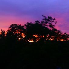 Zachód słońca Wrzeszcz