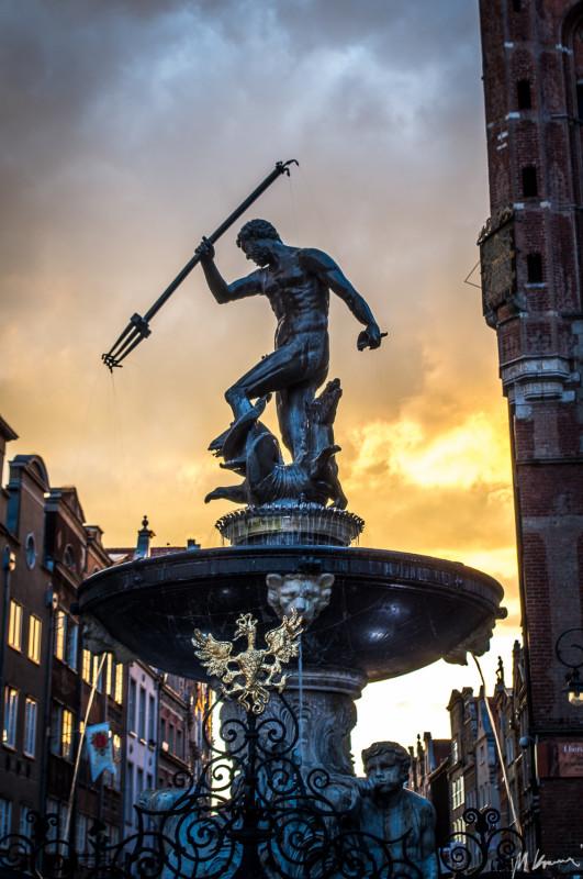 Znalezione obrazy dla zapytania fontanna neptuna gdańsk