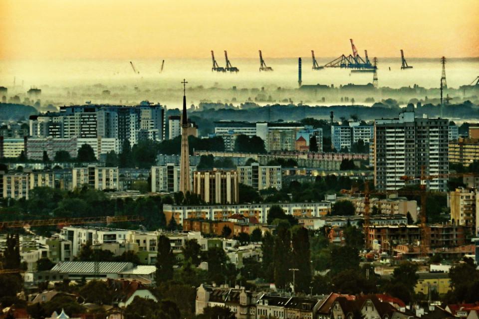 Panorama z Pachołka