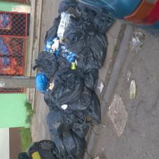 Długie Ogrody zarastają śmieciami 3