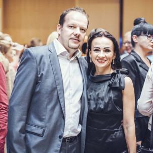 Szczepan Sakowicz z żoną