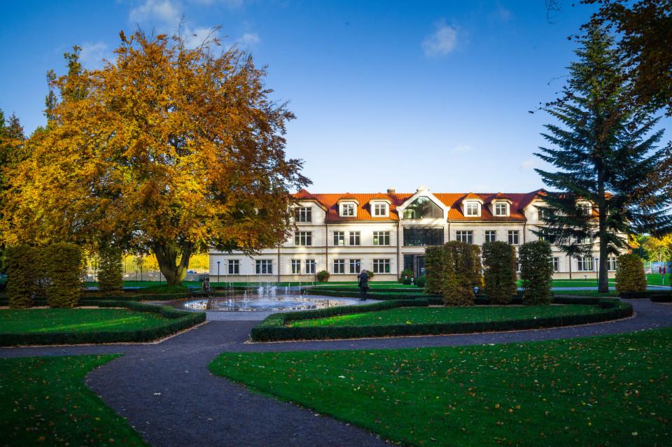 Dworek Saltzmanna, Gdańsk-Oliwa