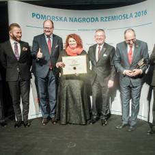 Paweł Adamowicz, Wiesław Szajda, Dariusz Drelich, Piotr Łukasik z żoną - firma Stolmach