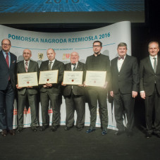 Ryszard Świlski członek Zarządu Województwa Pomorskiego, Paweł Adamowicz, Dariusz Drelich, Krzysztof Gollus, Piotr Jóskowski, Wojciech Raszke