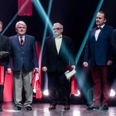 Bogusław Kaczmarek, Andrzej Szymeczko, Ryszard Gauden, Wojciech Przybylski i Tomasz Tomiak