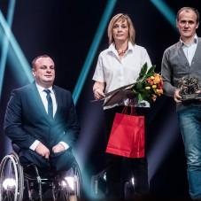 Rafał Lis i rodzice Natalii Partyki
