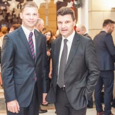 Adam Lewandowski i Piotr Podleśny