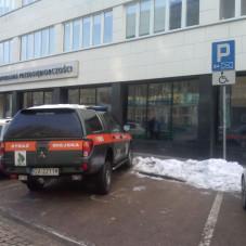 """"""" Prawidłowe parkowanie"""" 17.01.2017 BRAWO"""