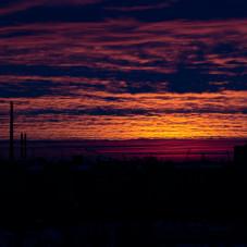 Wschód słońca na Zaspie
