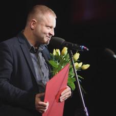 Mikołaj Trzaska - laureat nagrody Splendor Gedanensis