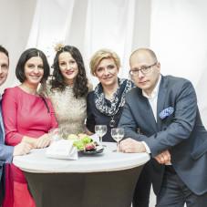 Dorota i Robert Szubert, Anna Szubert, Agnieszka i Maciej Diłaj