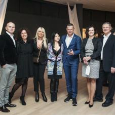 Hanna Brus, Katarzyna Pułaski, Justyna Szydłowska, Nela Andrzejczak z mężem, Artur Krajewski