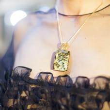 Biżuteria bursztynowa z wystawy Międzynarodowego Stowarzyszenia Bursztynników