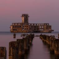 Torpedownia - zachód słońca
