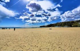 Plaża miejska w Gdyni 23 kwietnia