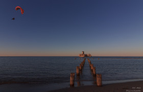 zachód słońca Torpedownia
