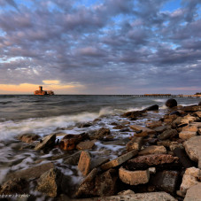 Babie Doły Torpedownia 3 maja wieczorem