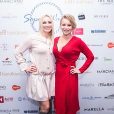 Paulina Gacek i Marta Blendowska