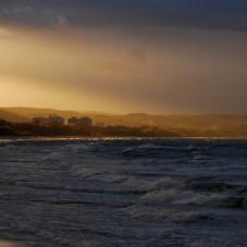 Poniedziałek na gdańskiej plaży