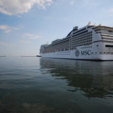MSC Magnifica w Gdyni