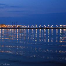 Molo w Sopocie wieczorem 15 maja