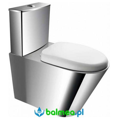 Kompakt WC ze stali nierdzewnej