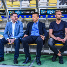 Edward Klejdinst, Leszek Ojrzyński i Antoni Łukasiewicz