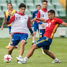 Carlos Soler i Jonathan Castro Otto