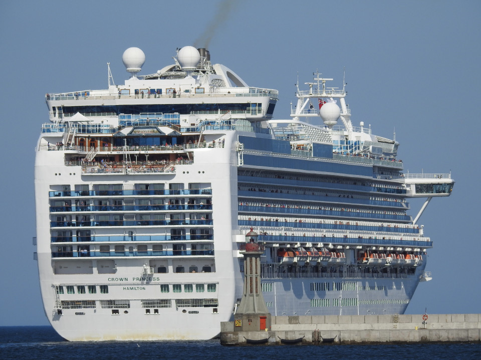 Gdynia - Wypłynięcie Crown Princess