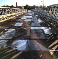 Sobieszewo most o wschodzie