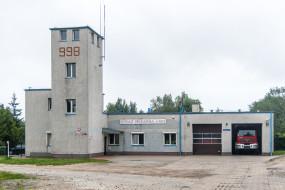 Straż Pożarna przy ulicy Dickmana 14a