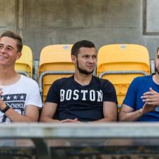 Szymon Więckowicz, Paweł Wojowski i Luka Zarandia