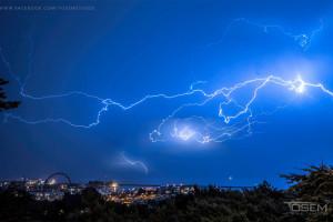 Burza w Gdyni