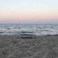 Letni zachód słońca w Orłowie