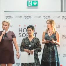 Anna Czarnowska , Paulina Marwińska i Aleksandra Dejewska